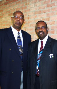 AIC Founders Rev. Earlie Dixon and Rev. Dr. James Streeter